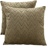 SUNSHINE FASHION Decorative Throw Pillow Covers Farmhouse Pillowcases for Indoor Outdoor,Cushion Covers for Couch Sofa Bench,18X18 inches (Navy Waves,Pack of 1)