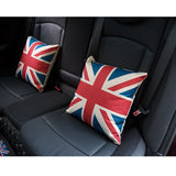 Car headrest lumbar pillow Cushion Pad For BMW MINI ONE COOPER S JCW CLUBMAN F54 F55 F56 F60 R55 R56 R60 Car Styling decoration