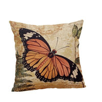 Butterfly Pillow Case Cover Decorative Cushion Case Bedding Cushion Cover Farmhouse Home Decor Throw Pillow Cover Lumbar Support