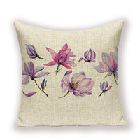 Floral Pillow Case 45 * 45 Spring Pillow Covers  Farmhouse Home Decor Cushions Living Room Throw Pillow Custom Cushion Covers