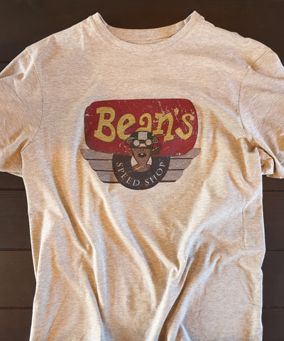 Beans Speed Shop logo shirt