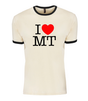 I love MT 'ringer' shirt