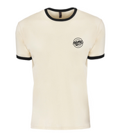 North East Mini Club round logo 'ringer' shirt