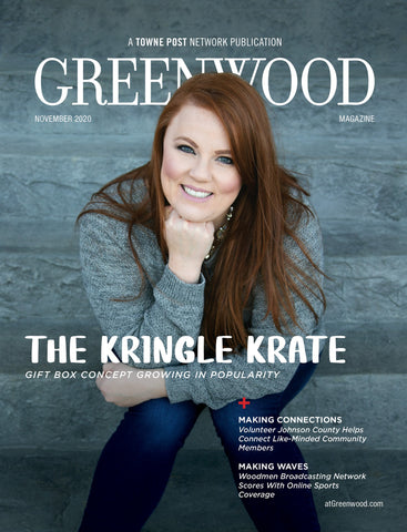 Greenwood Magazine Featured Story - The Kringle Krate Christmas Eve Boutique