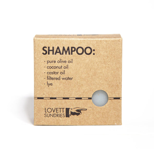 Shampoo Bar by Lovett Sundries