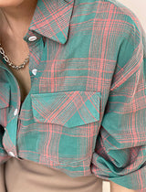 Kourtney Plaid Shirt