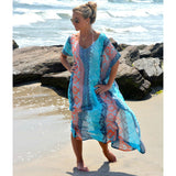 Geo Beach Coverup