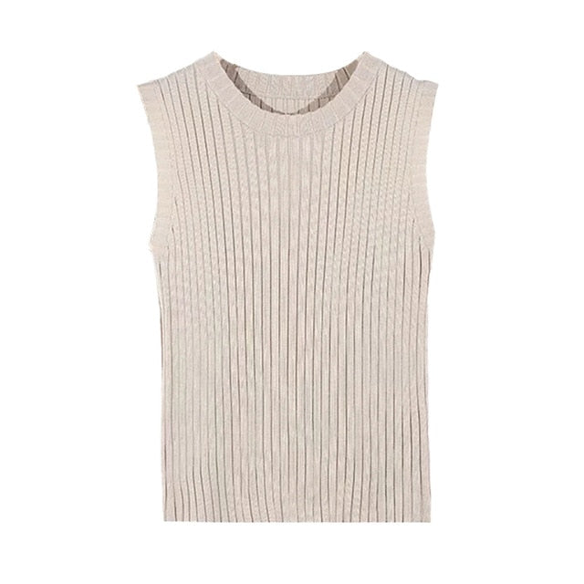 Knitted Tank Top