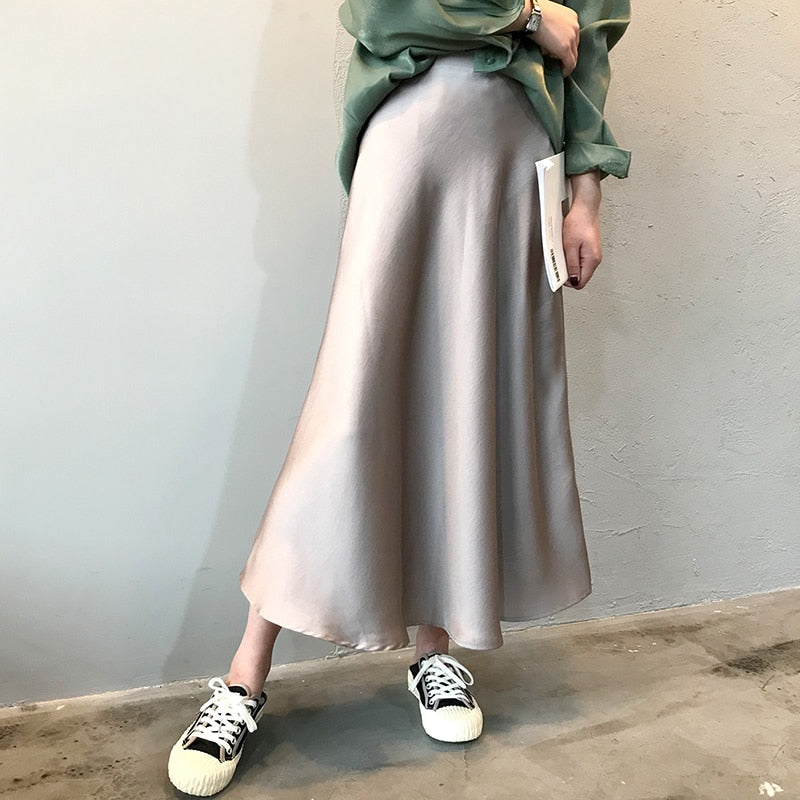 Long Smooth Skirt