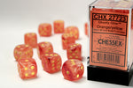 Chessex Orange/Yellow Ghostly 12d6
