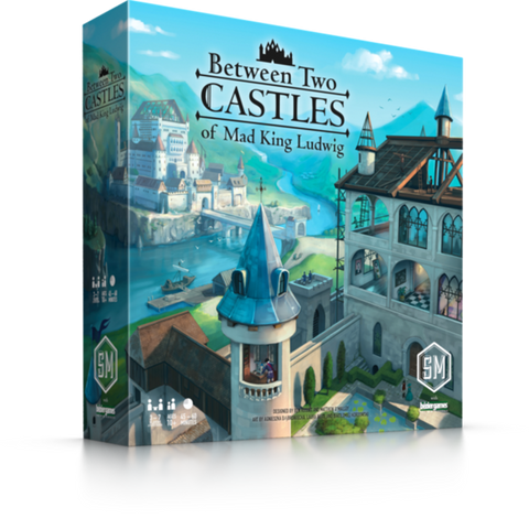 Between 2 Castles of Mad King Ludwig
