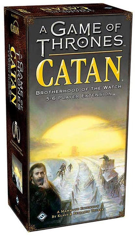A Game of Thrones CATAN: Brotherhood of the Watch 5-6 Player Extension