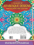 Dover Arabic Floral Patterns Coloring Book