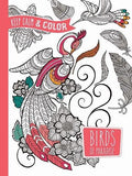 Dover Keep Calm and Color Zottino Birds of Paradise Coloring Book