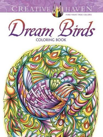 Creative Havens Adatto Dream Birds Coloring Book