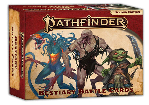 PathFinder 2nd ed Bestiary Battle Cards