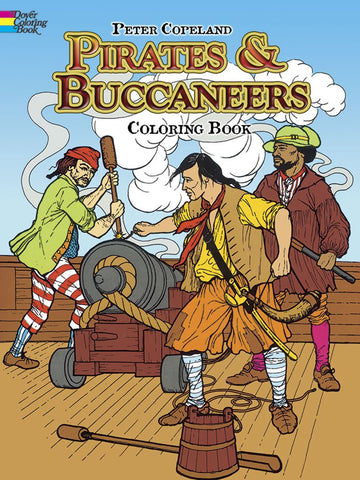 Dover Copeland Pirates & Buccaneers Coloring Book