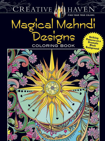 Creative Haven Boylan Magical Mehndi Design