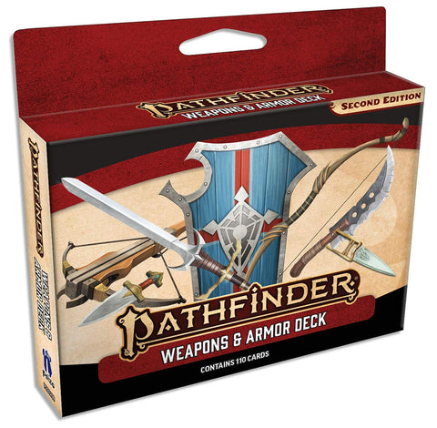 PathFinder 2nd ed Weapons & Armor Deck