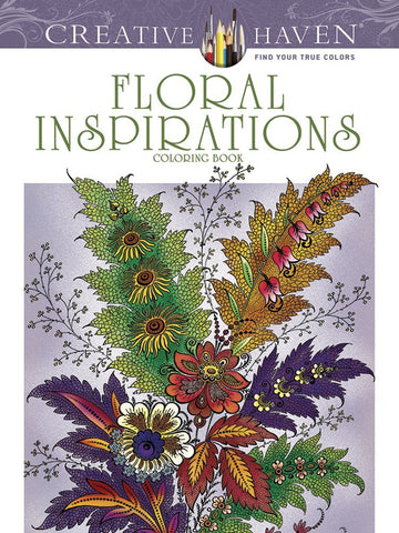 Creative Havens Heald Floral Inspirations Coloring Book