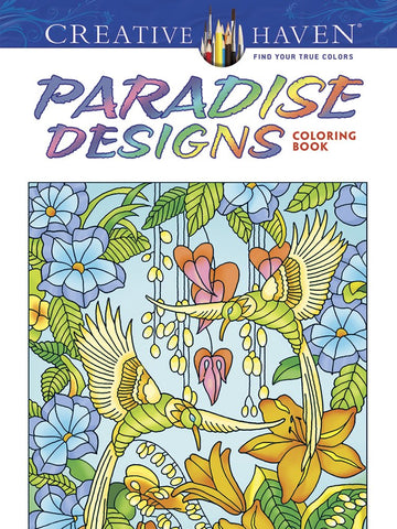 Creative Haven Menten Paradise Designs Coloring Book