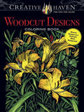 Creative Havens Foley Woodcut Designs Coloring Book