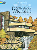 Dover Famous Buildings of Frank Lloyd Wright Coloring Book