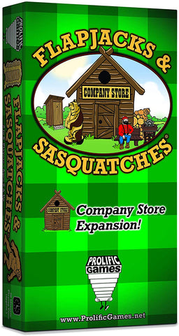 Flapjacks & Sasquatches: Company Store Expansion