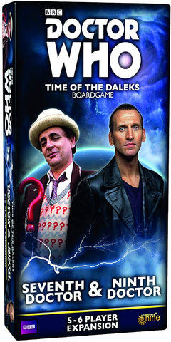 Doctor Who Time of the Daleks 7th & 9th Doctor Expansion