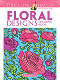 Creative Haven Mazurkiewicz Floral Designs Coloring Book