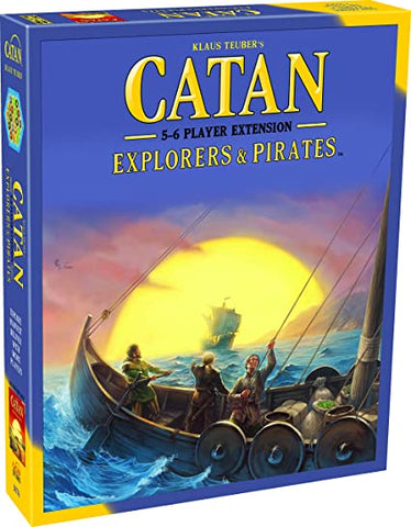 CATAN: Explorer & Pirates 5-6 Player Extension