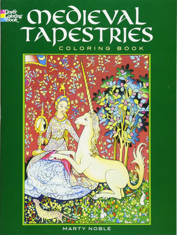 Dover Noble Medieval Tapestries Coloring Book