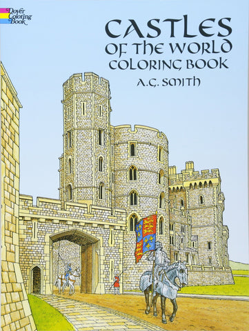 Dover Smith Castles of the World Coloring Book