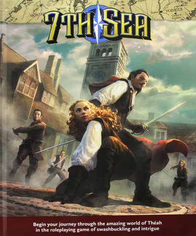 7th Sea 2nd Ed RPG Core Rulebook