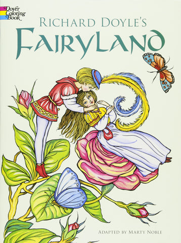 Dover Doyle's Fairyland Coloring Book