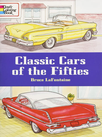 Dover Classic Cars of the 50's Coloring Book