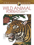 Creative Haven Hunter Wild Animal Portraits Coloring Book