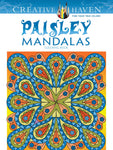 Creative Haven Kerrigan Paisley Mandala Coloring Book