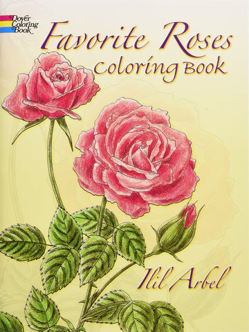Dover Favorite Roses Coloring Book