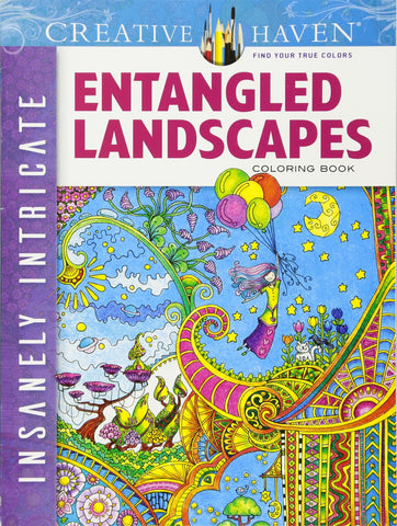 Creative Haven Porter Entangled Landscapes Coloring Book