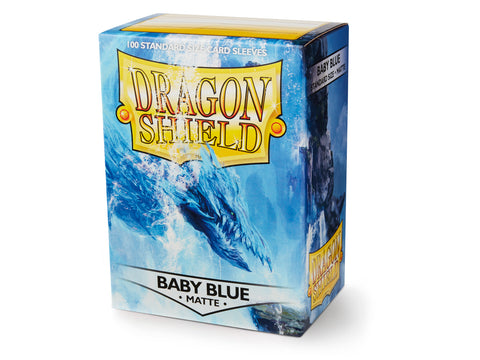 Dragon Shield Matte Baby Blue Sleeves