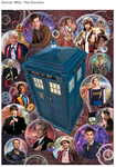 Doctor Who: The Doctors 1000 piece puzzle