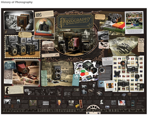 History of Photography 1000 piece puzzle