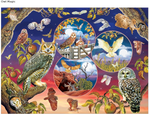 Owl Magic 1000 piece puzzle