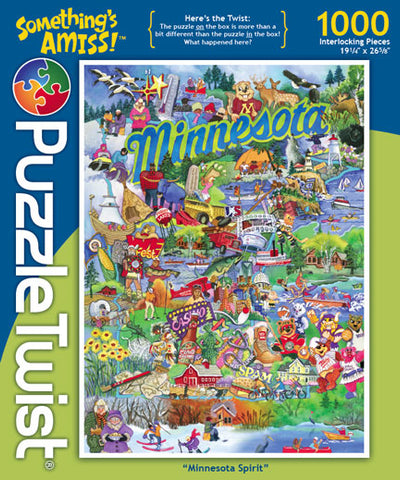 PuzzleTwist Minnesota Spirit 1000 pc