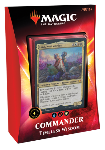 Magic: The Gathering: 2020 Commander Deck: Timeless Wisdom