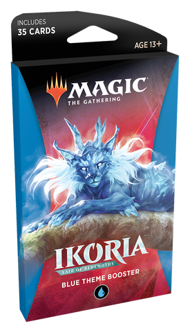 Magic: The Gathering: Ikoria Themed Booster Blue