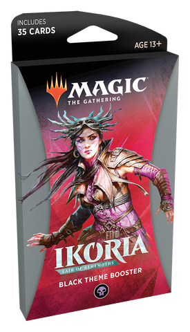 Magic: The Gathering: Ikoria Themed Booster Black