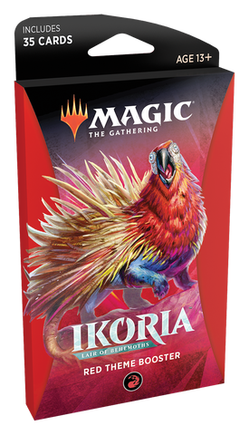Magic: The Gathering: Ikoria Themed Booster Red
