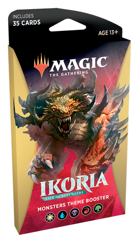 Magic: The Gathering: Ikoria Themed Booster Monsters